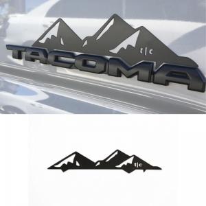 Set de emblemas Tacoma Montañas