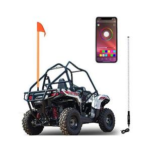 Antena Bandera Led Whip RGB 1.80mts Bluetooth