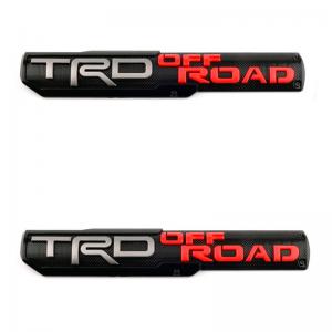 Par De Emblemas Trd Off-road Toyota Tacoma