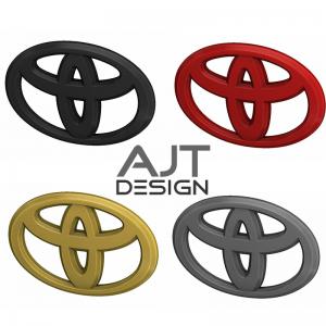 Emblema para volante Toyota AJT Designs