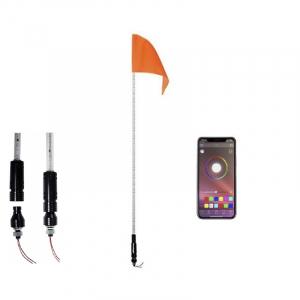 Antena led whip de 1.20m RGB Bluetooth