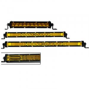 Barra de led ultra delgada slim ambar serie K