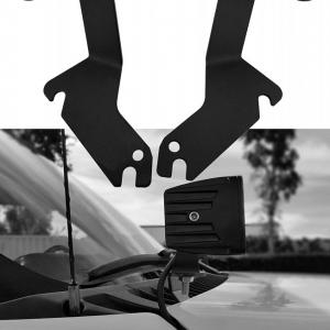 Bases Metalicas Para Faros en Cofre Chevrolet