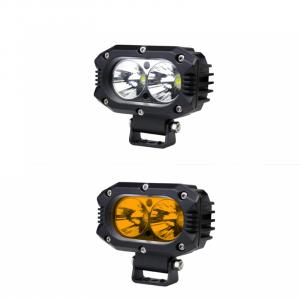 Faro led 5″ 40w ambar/blanco