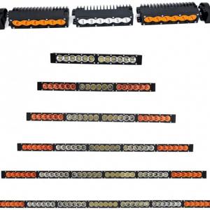 Barra led modular armable tipo baja 6 leds