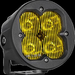 Faro led premium SAE 3.5″ redondo amarillo